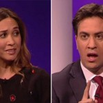 Myleene Klass goes full Paxman: Ed Miliband humiliated on TV by former Hear'Say pop star